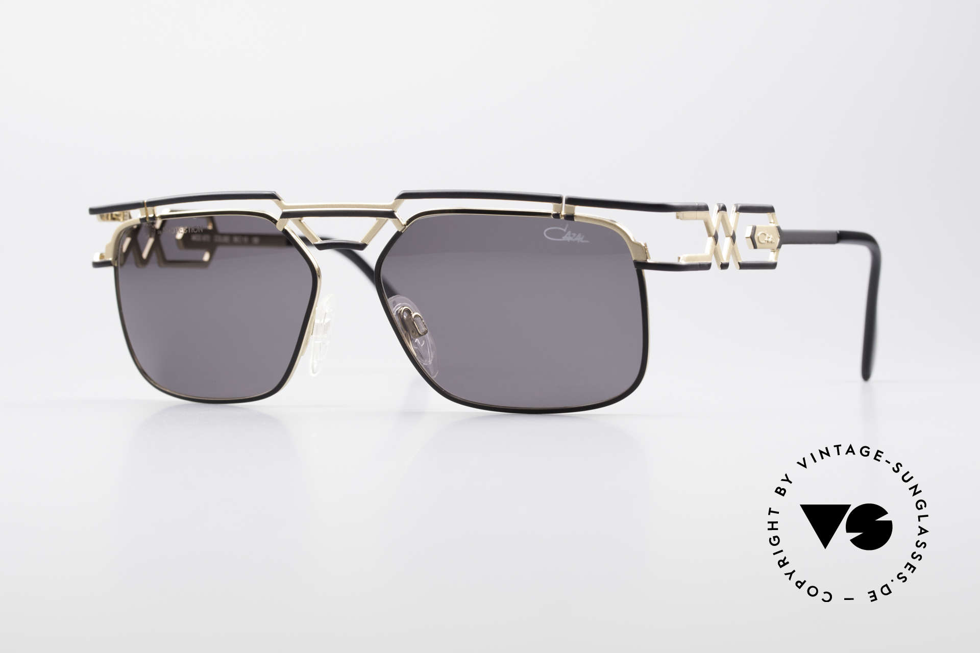 Cazal 973 90's Sunglasses Ladies Gents, monumental DESIGNER sunglasses from 1997 by CAZAL, Made for Men and Women