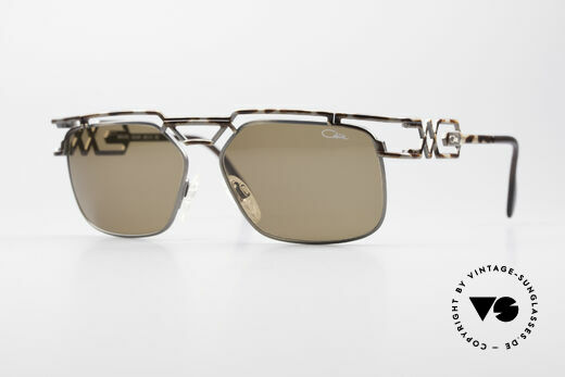 Cazal 973 High-End Designer Sunglasses Details