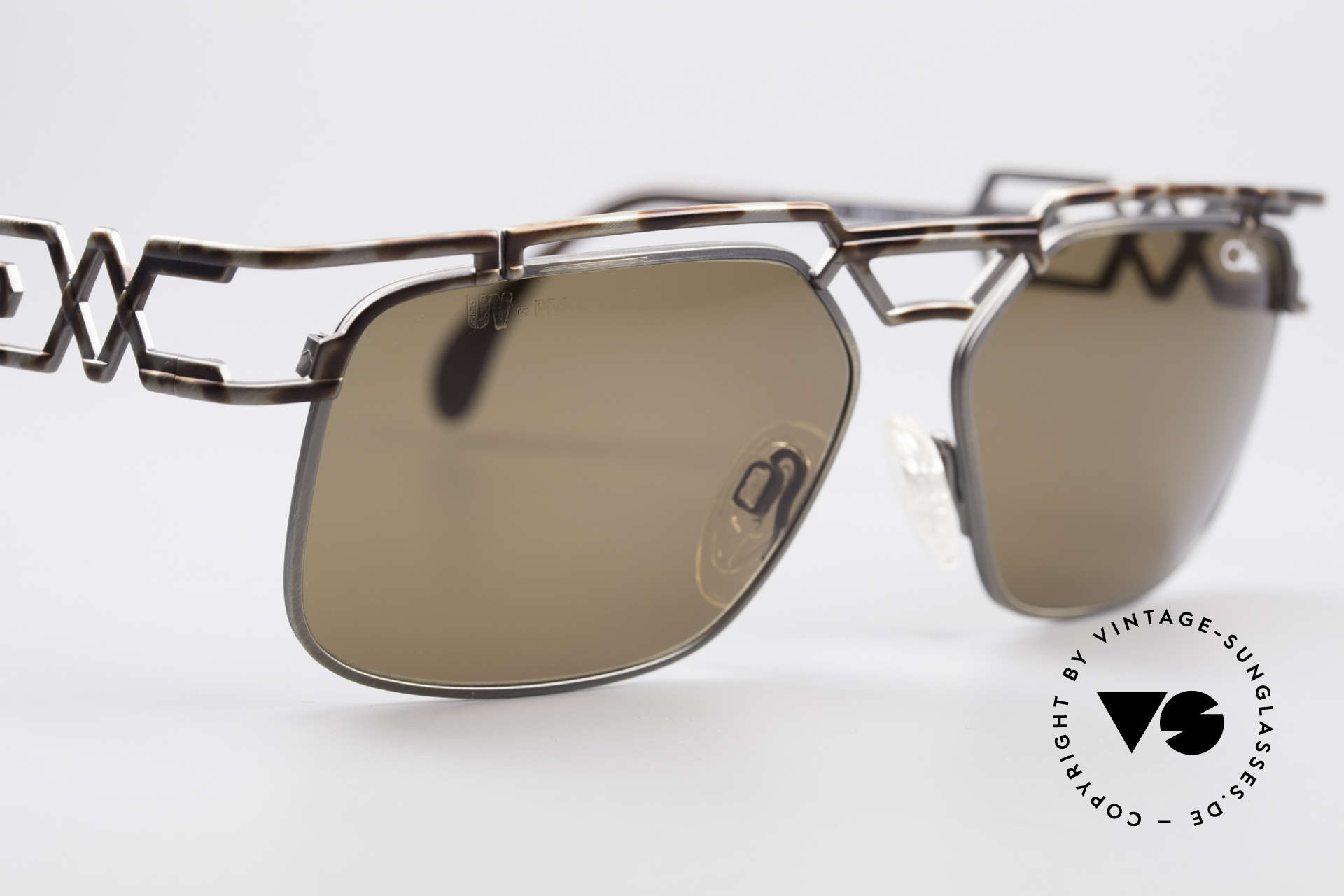 Cazal 973 High-End Designer Sunglasses, NO RETRO fashion, but a 20 years old original; unicum, Made for Men and Women