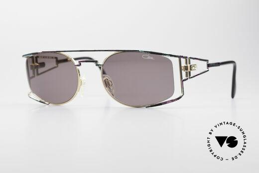 Cazal 967 90's Designer Sunglasses Details