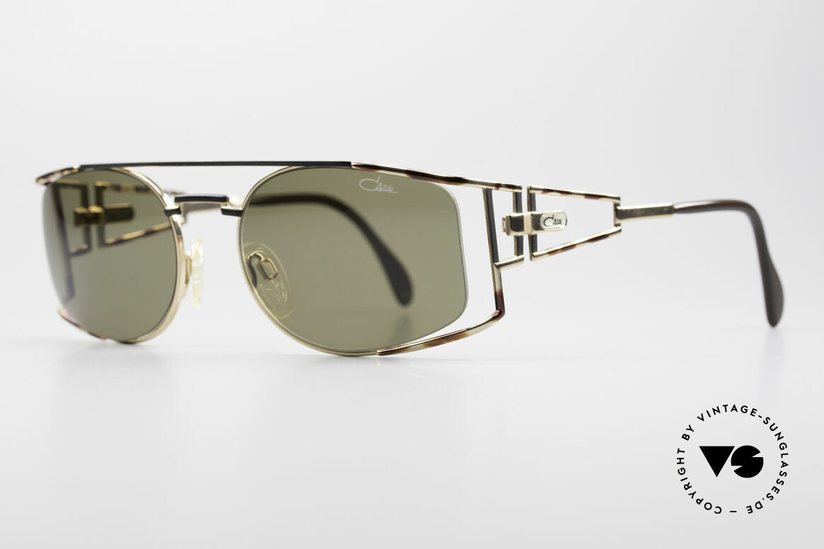 Cazal 967 Rare 90's Designer Sunglasses, complex & handcrafted finish (tricolored paintwork), Made for Men and Women