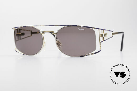 Cazal 967 Vintage Designer Sunglasses Details
