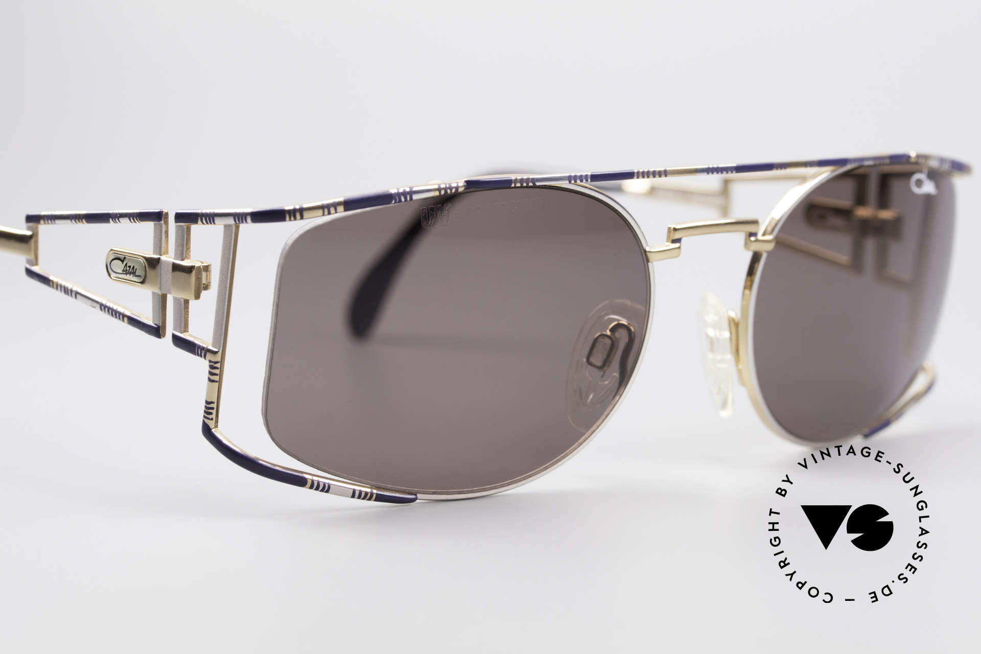 Cazal 967 Vintage Designer Sunglasses, unworn (like all our rare vintage Cazal sunglasses), Made for Men and Women
