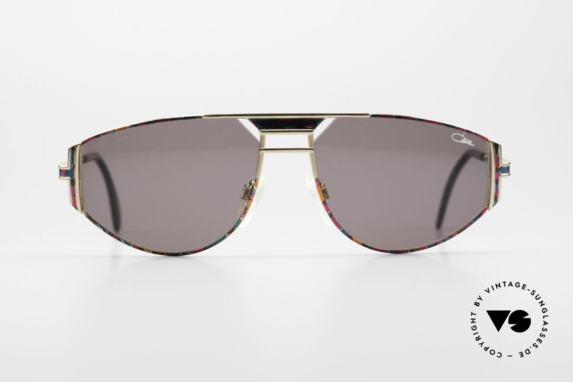 Cazal 964 True 90's No Retro Sunglasses, best craftsmanship (made in Germany) with 100% UV, Made for Men and Women