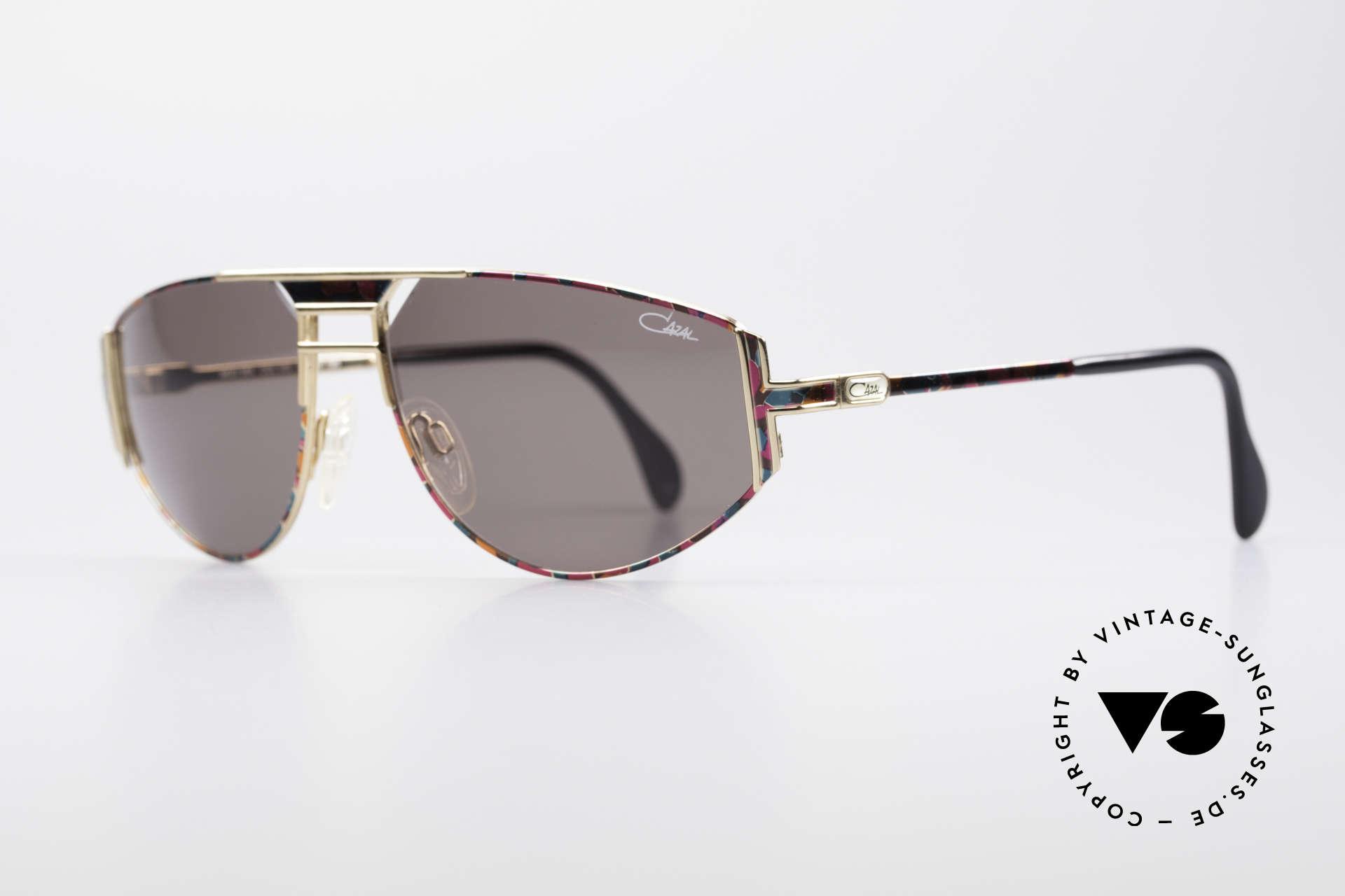 Cazal 964 True 90's No Retro Sunglasses, terrific creation by famous CAri ZALloni (Mr. CAZAL), Made for Men and Women