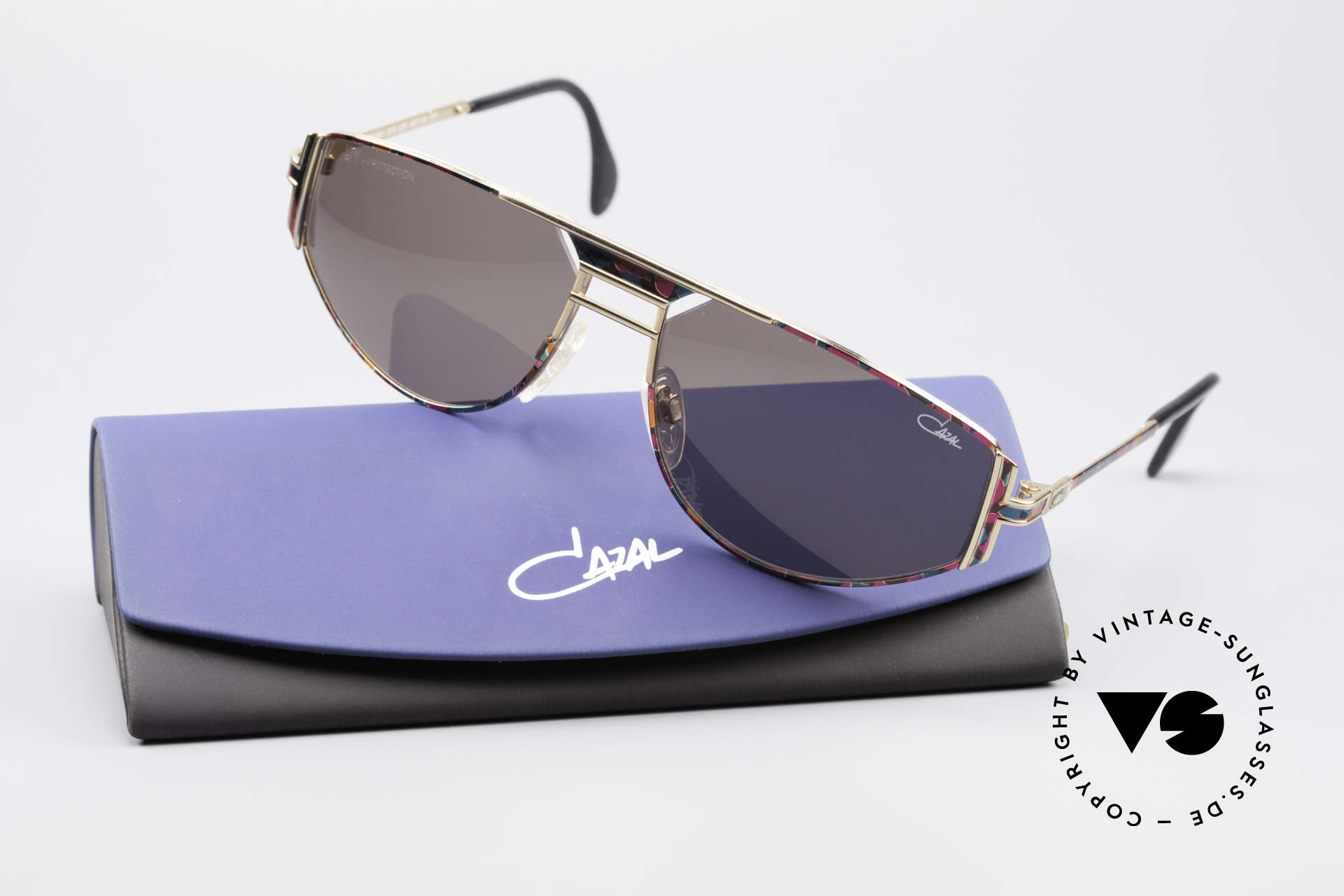 Cazal 964 True 90's No Retro Sunglasses, unworn rarity (like all our old vintage Cazal eyewear), Made for Men and Women