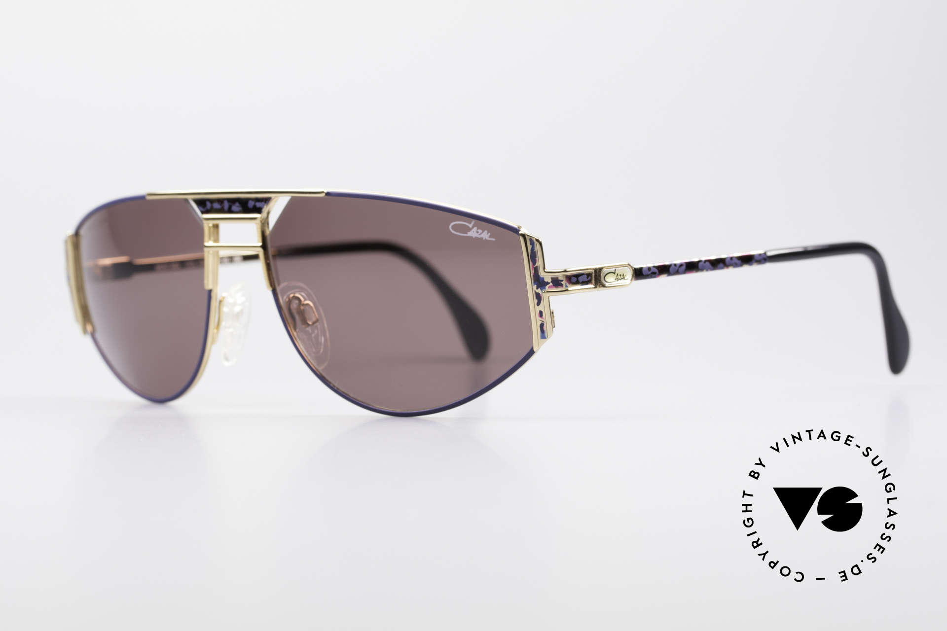 Cazal 964 True Vintage 90s Sunglasses, terrific creation by famous CAri ZALloni (Mr. CAZAL), Made for Men and Women