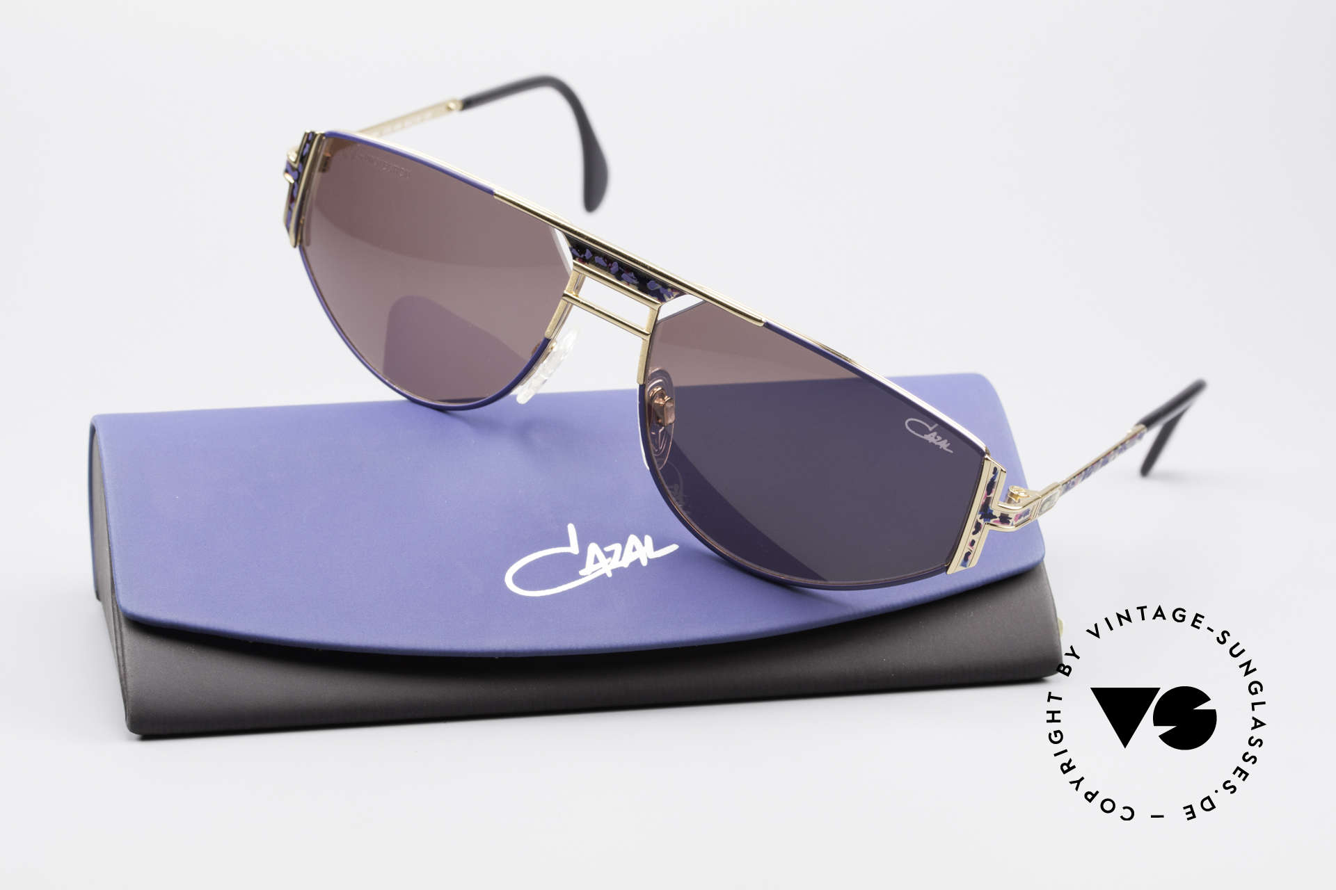 Cazal 964 True Vintage 90s Sunglasses, unworn rarity (like all our old vintage Cazal eyewear), Made for Men and Women