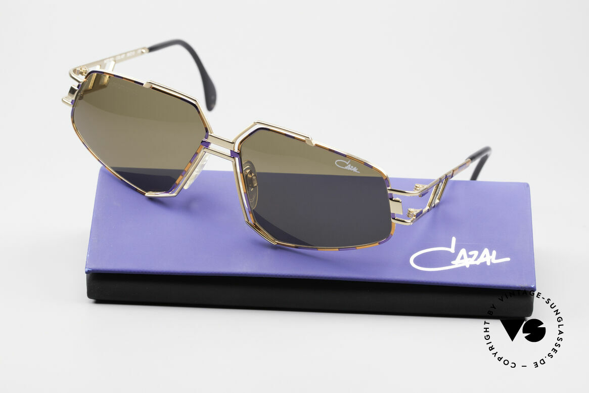 Cazal 961 Vintage Designer Sunglasses, NO RETRO sunglasses, but a 25 years old Cazal original!, Made for Men and Women
