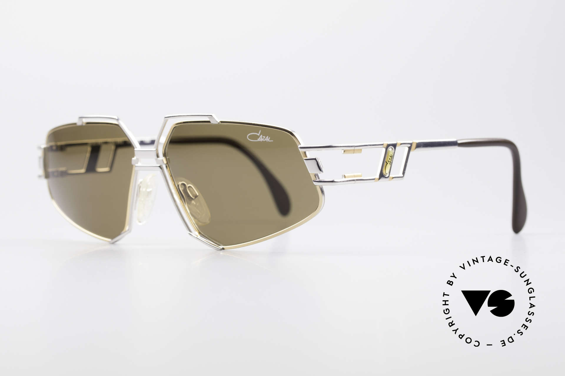 Cazal 961 Rare Designer Sunglasses 90s, striking & distinctive frame construction; truly vintage, Made for Men and Women