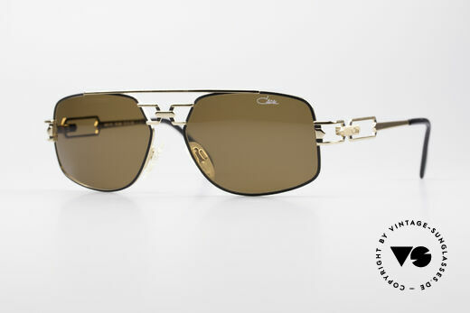 Cazal 972 True 90's No Retro Sunglasses Details