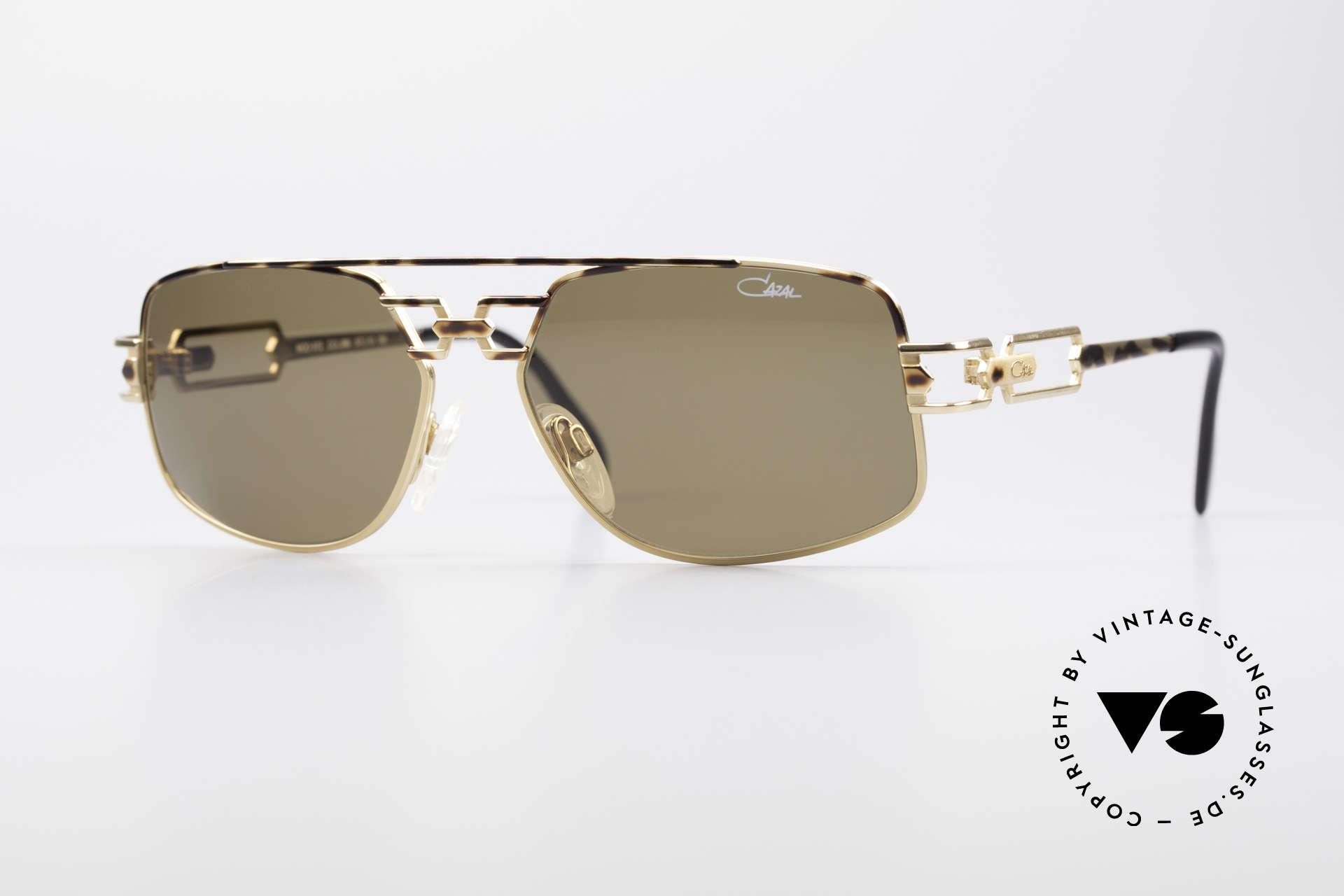 Cazal 972 Rare Designer Sunglasses 90's, original 1990's CAZAL designer sunglasses; true vintage!, Made for Men and Women