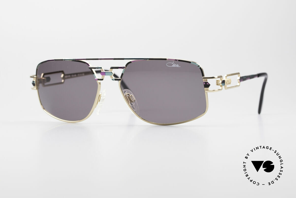 Cazal 972 No Retro Shades True Vintage, original 1990's Cazal designer sunglasses; true vintage!, Made for Men and Women