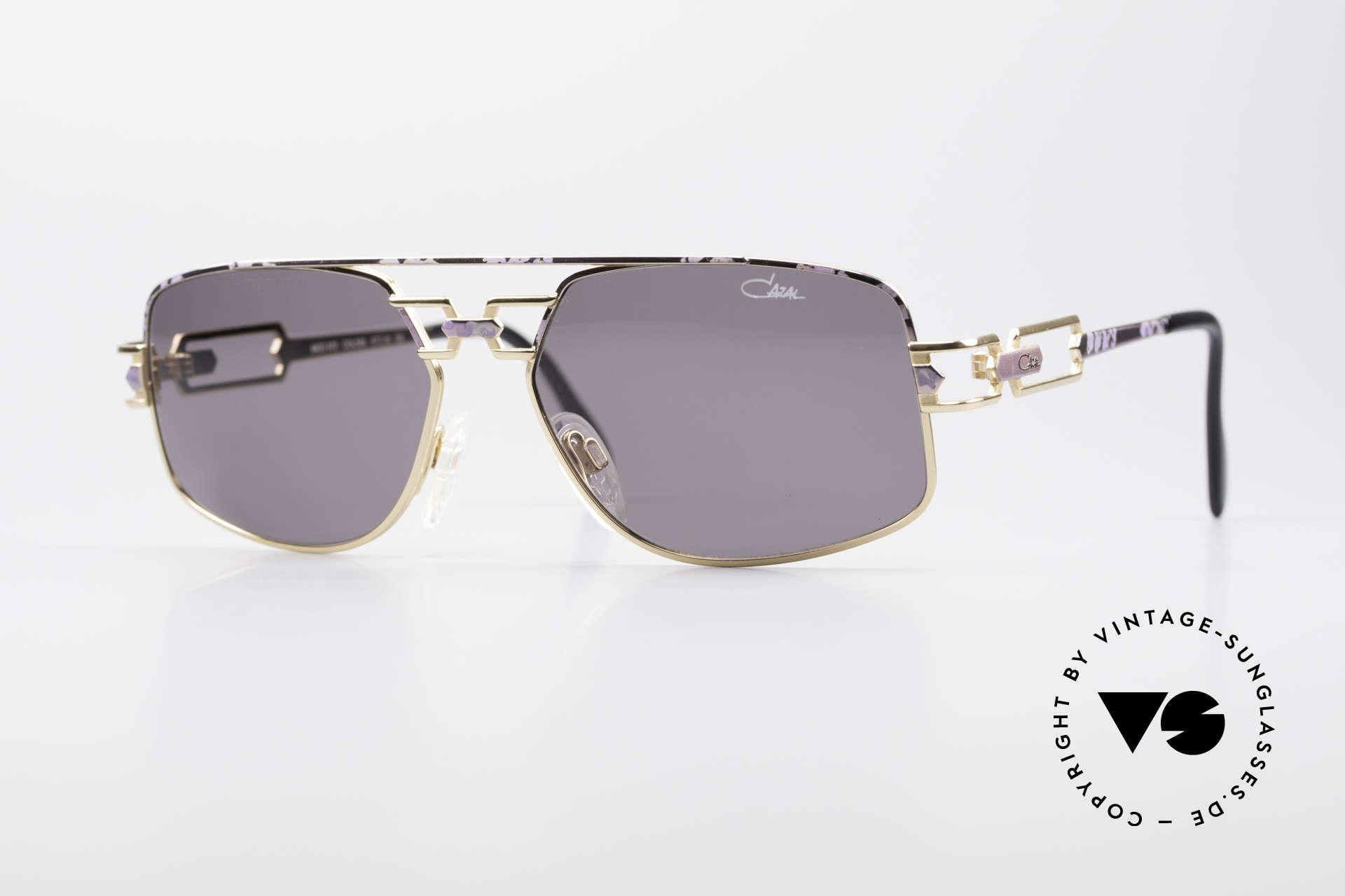 Cazal 972 True Vintage Shades No Retro, original 1990's Cazal designer sunglasses; true vintage!, Made for Men and Women