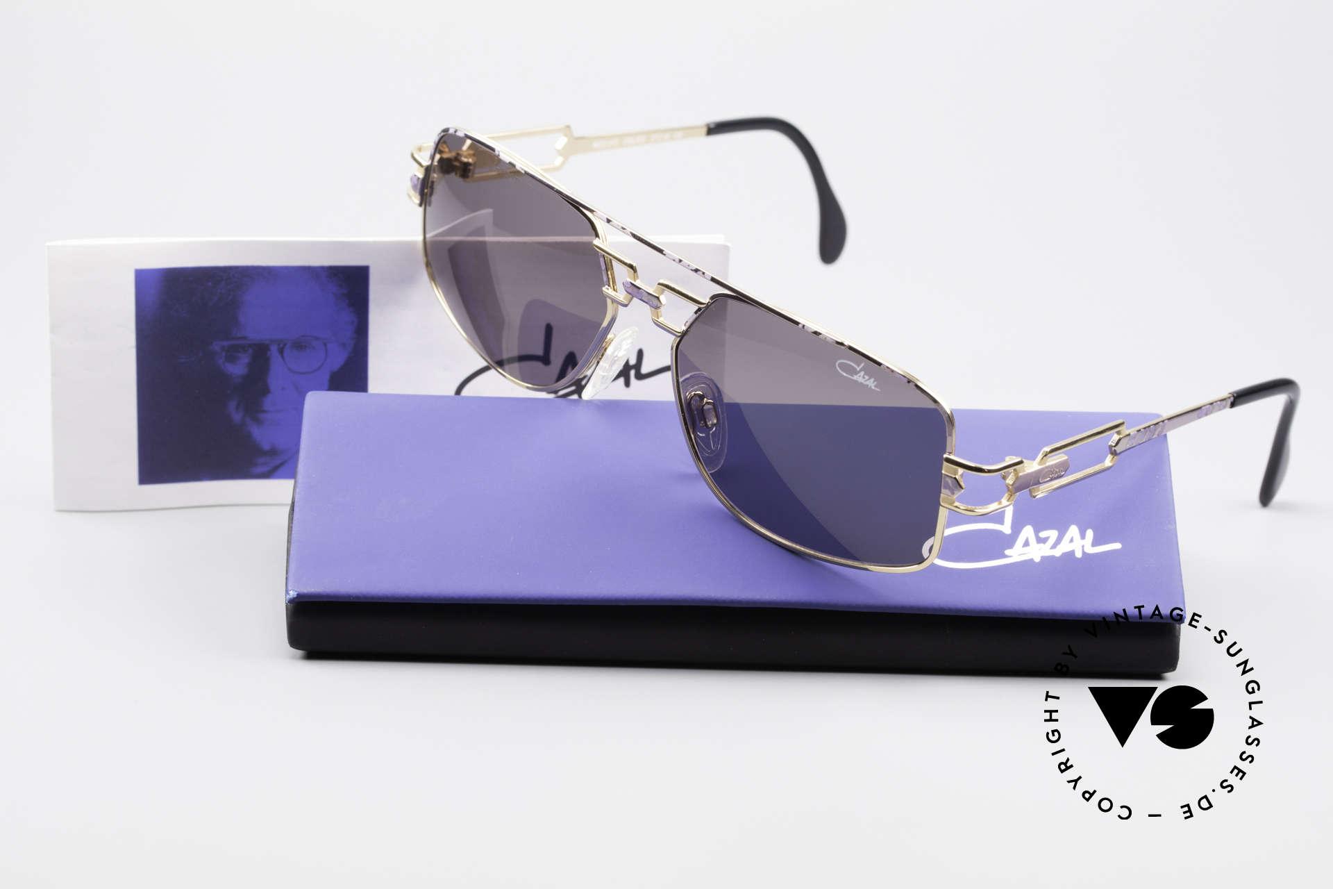 Cazal 972 True Vintage Shades No Retro, orig. gray CAZAL sun lenses with UV PROTECTION mark, Made for Men and Women
