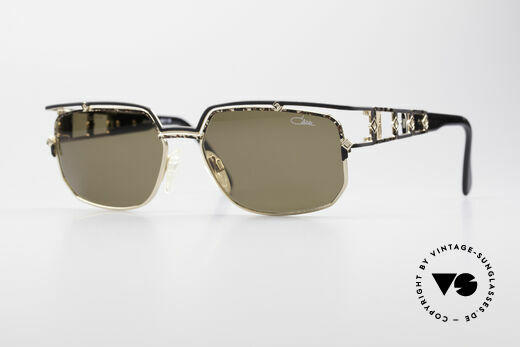 Cazal 979 Vintage Ladies Sunglasses Details
