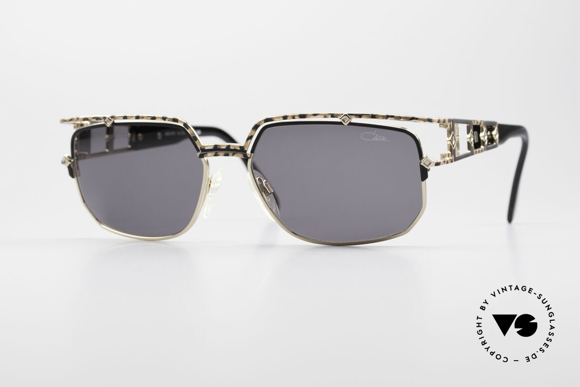 Cazal 979 90's Vintage Shades Ladies, noble designer sunglasses by CAZAL from 1997, Made for Women
