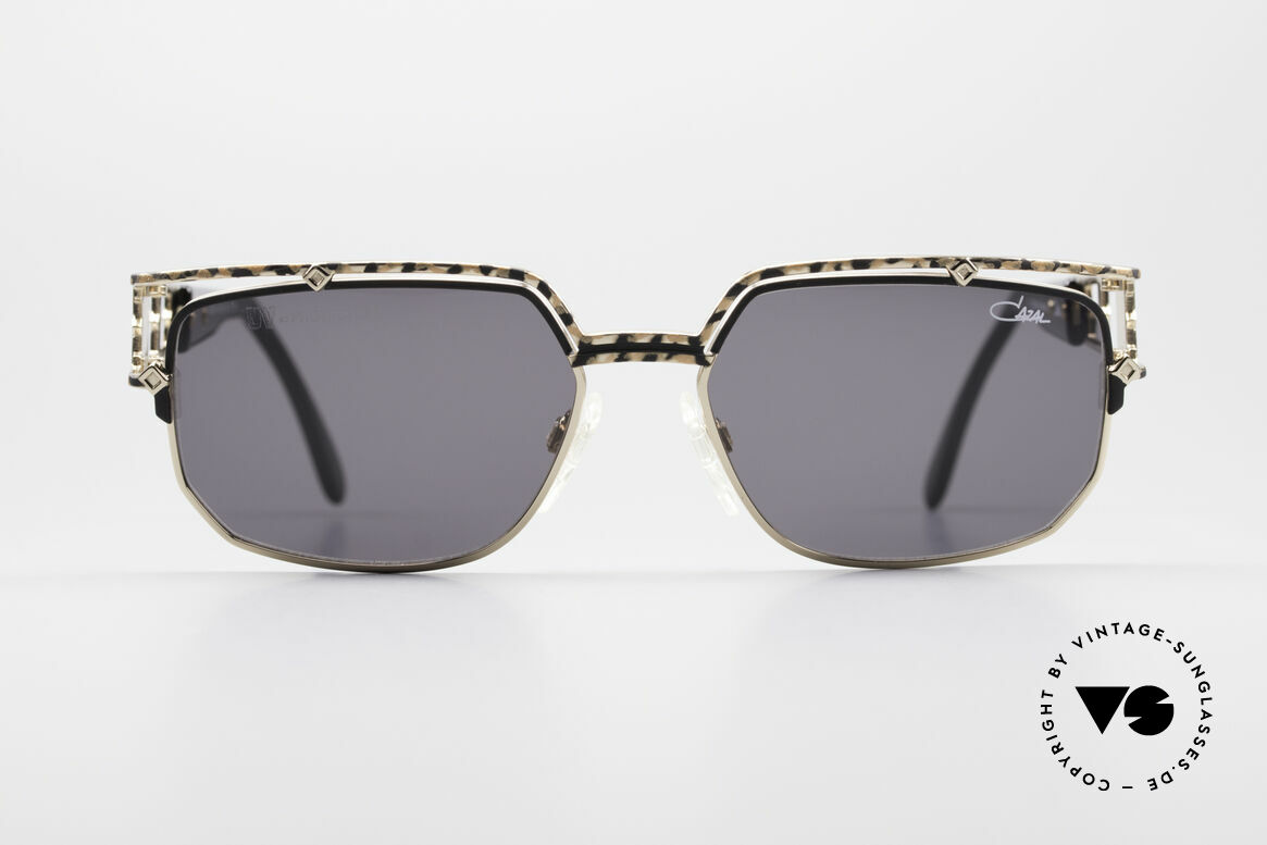 Cazal 979 90's Vintage Shades Ladies, striking frame front with sophisticated temples, Made for Women