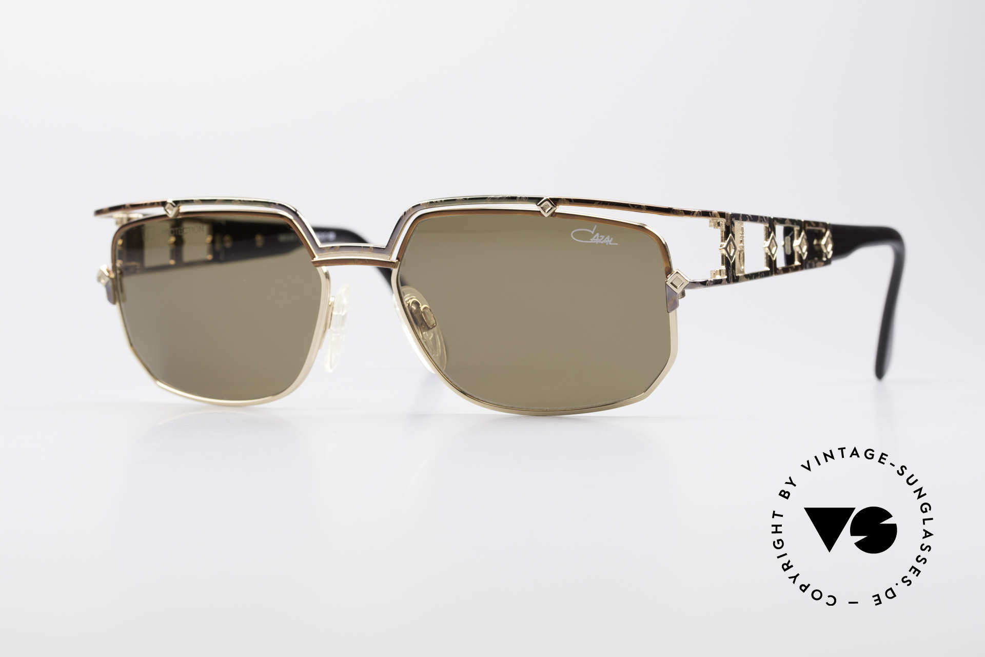 Cazal 979 Ladies Sunglasses Vintage, noble designer sunglasses by CAZAL from 1997, Made for Women