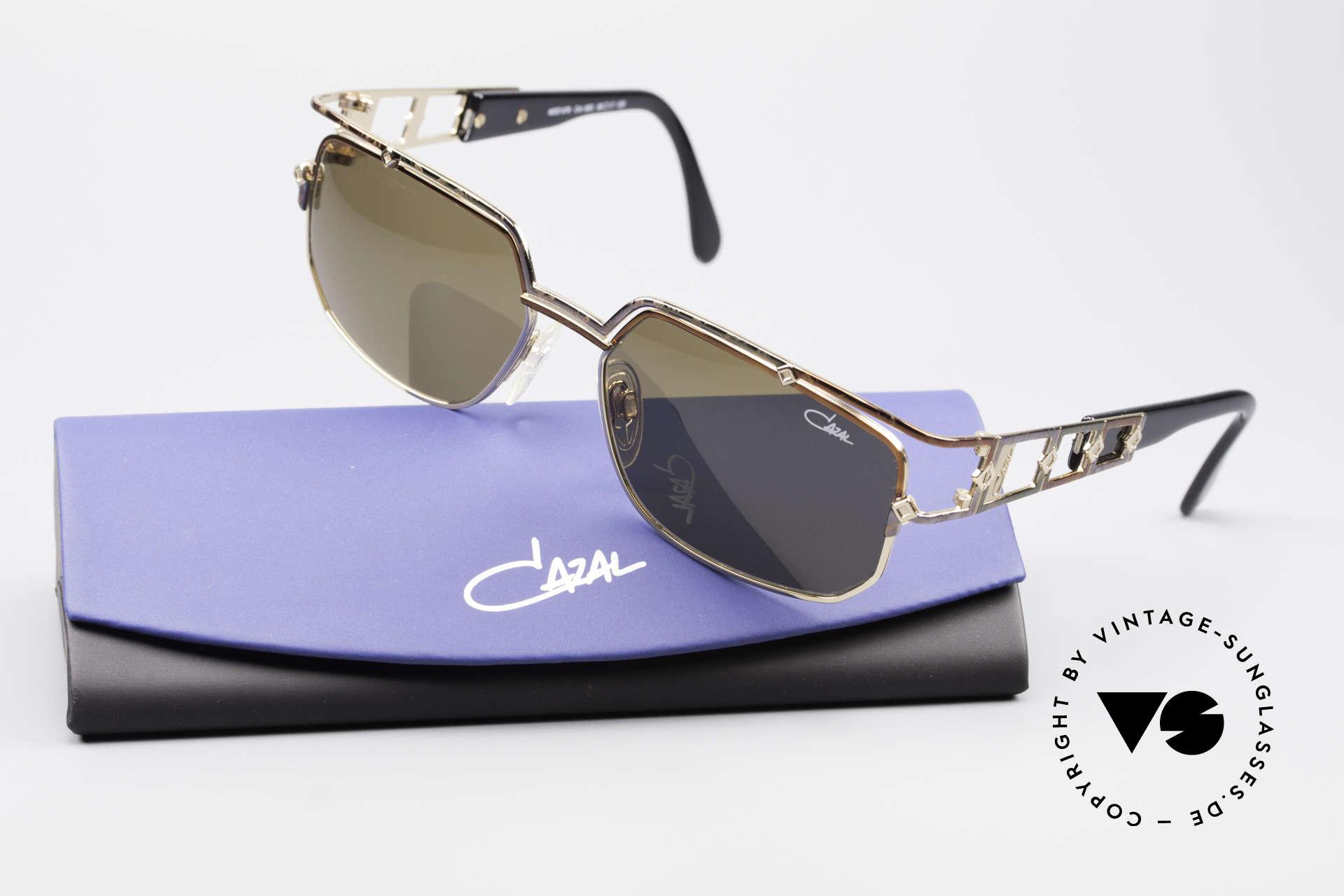Cazal 979 Ladies Sunglasses Vintage, genuine Cazal sun lenses (for 100% UV protection), Made for Women