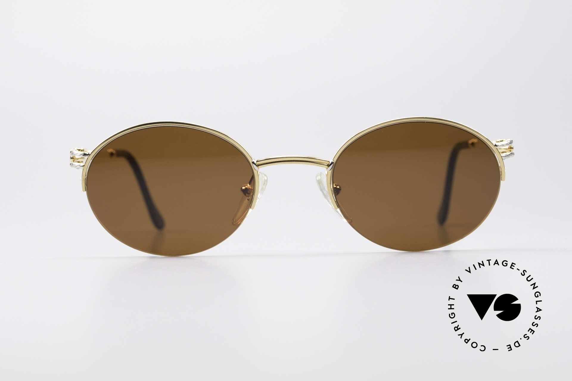 30131205b1 Sunglasses Fred Feroe Oval Luxury Sunglasses