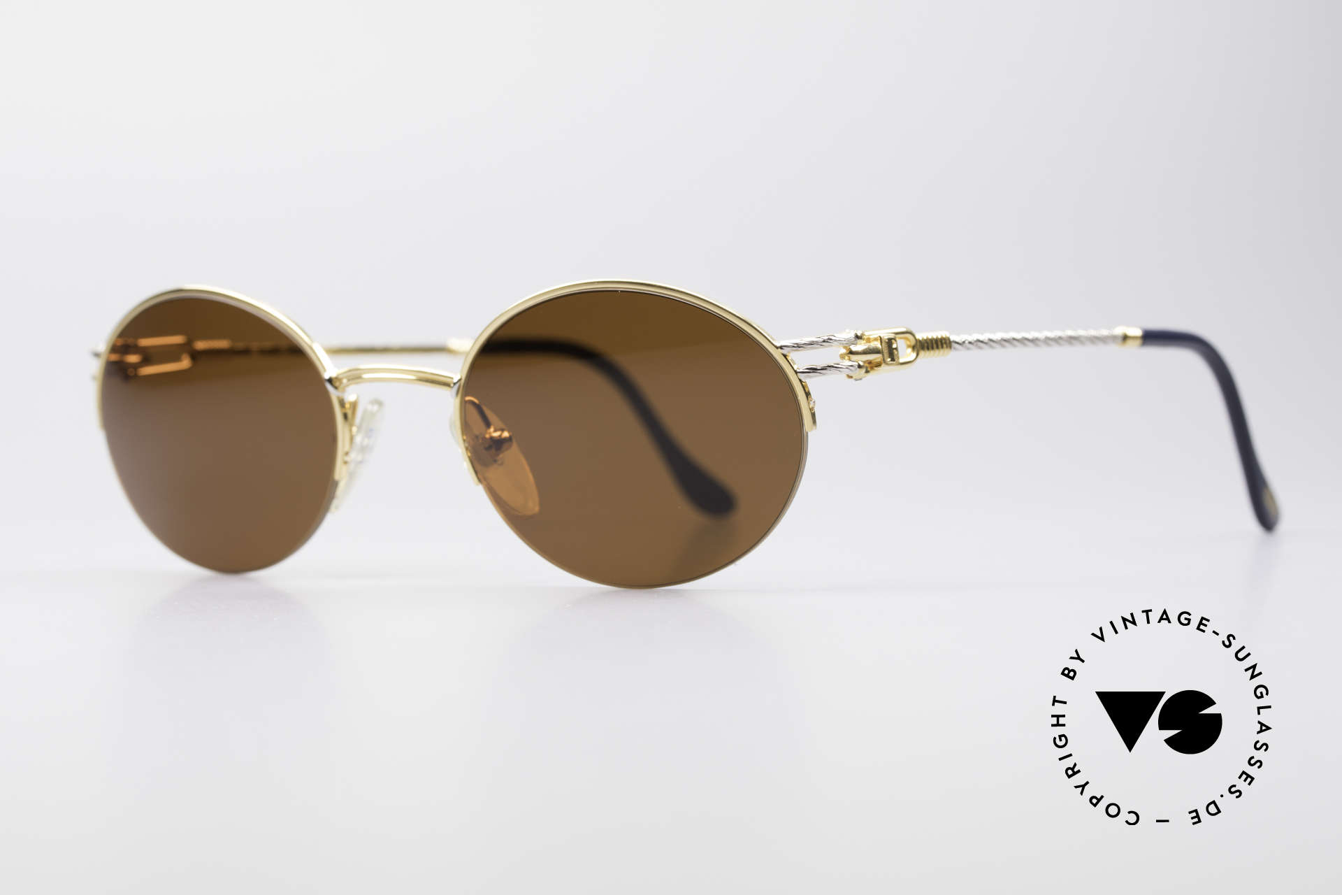 Fred Feroe Oval Luxury Sunglasses, the model name FEROE = French for the Faroe Islands, Made for Men and Women