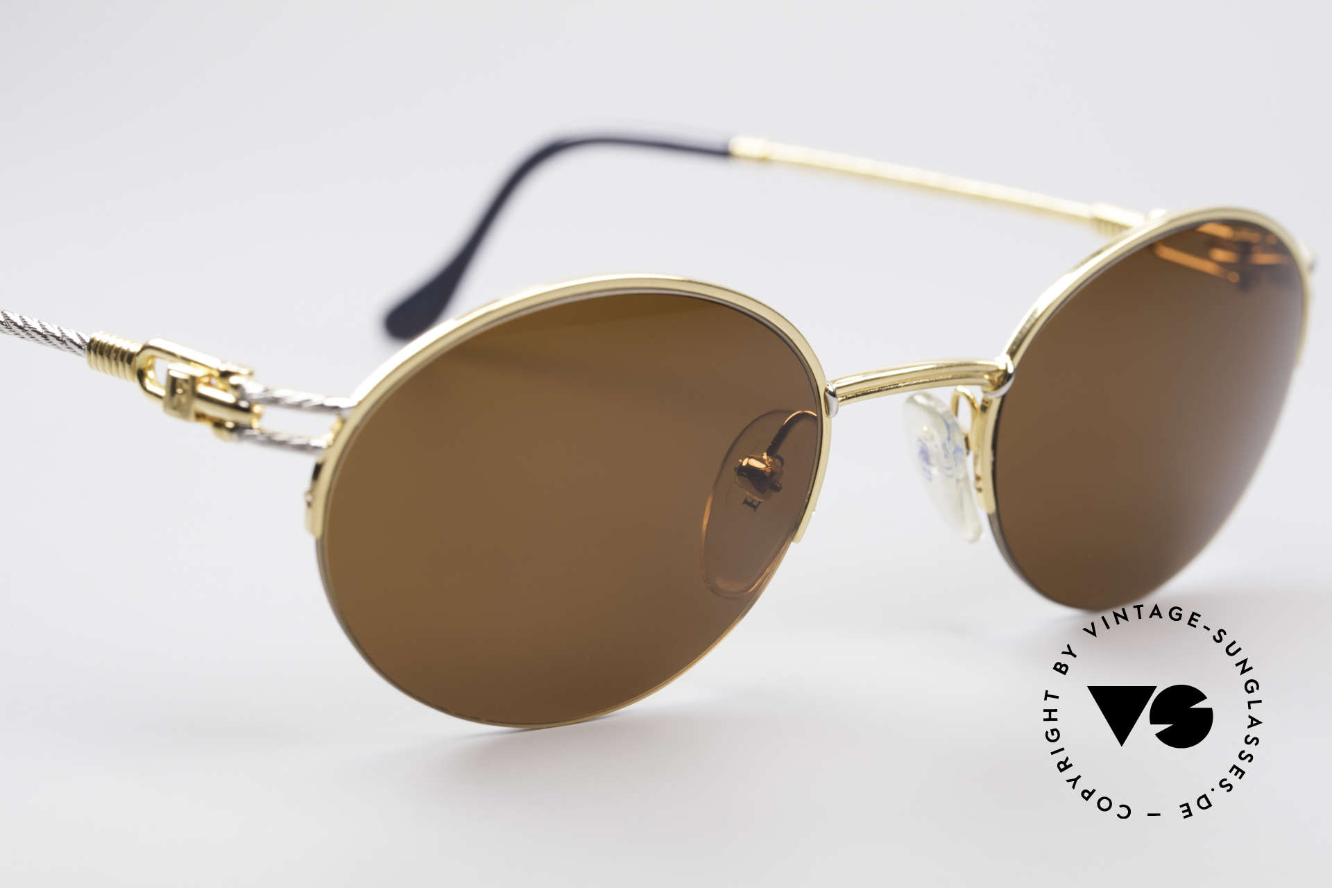 Fred Feroe Oval Luxury Sunglasses, with orig. Fred packing (hard box, certificate, case ..), Made for Men and Women