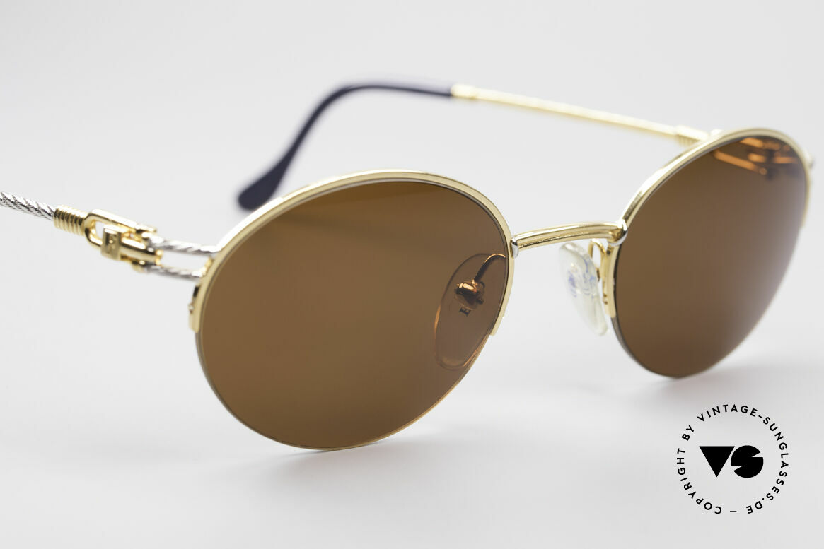 Fred Feroe Oval Luxury Sunglasses