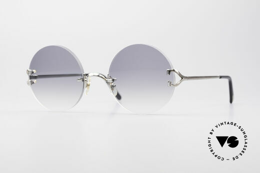 Cartier Madison Round Platinum Shades Details
