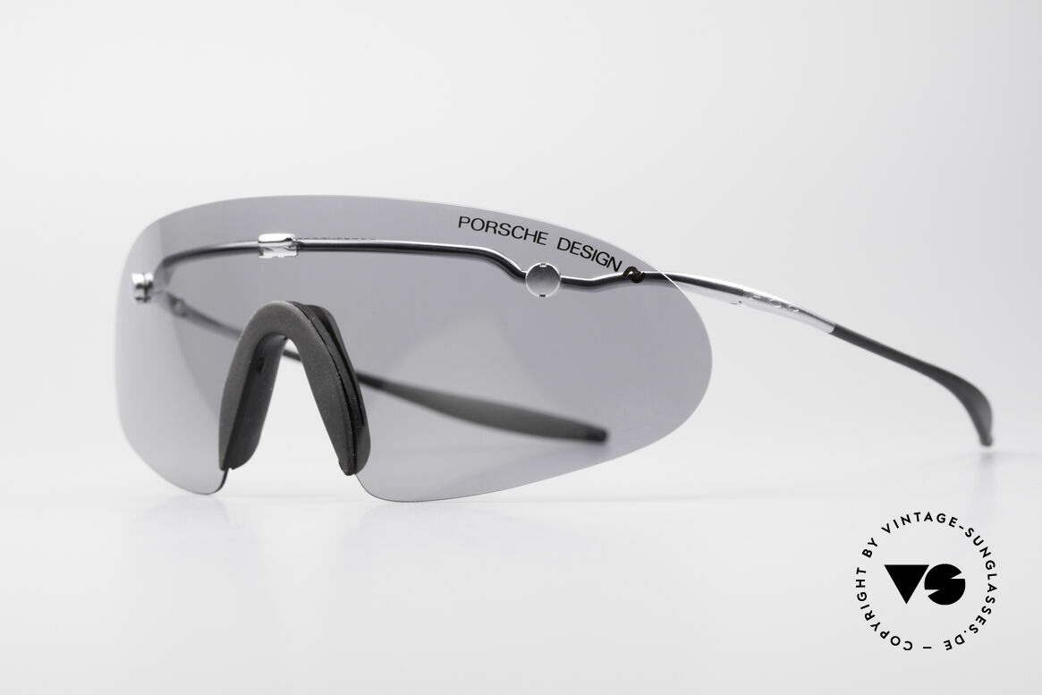 Porsche 5692 F09 Flat Designer Shades, ingenious flat & compact, when folded (fits every pocket), Made for Men