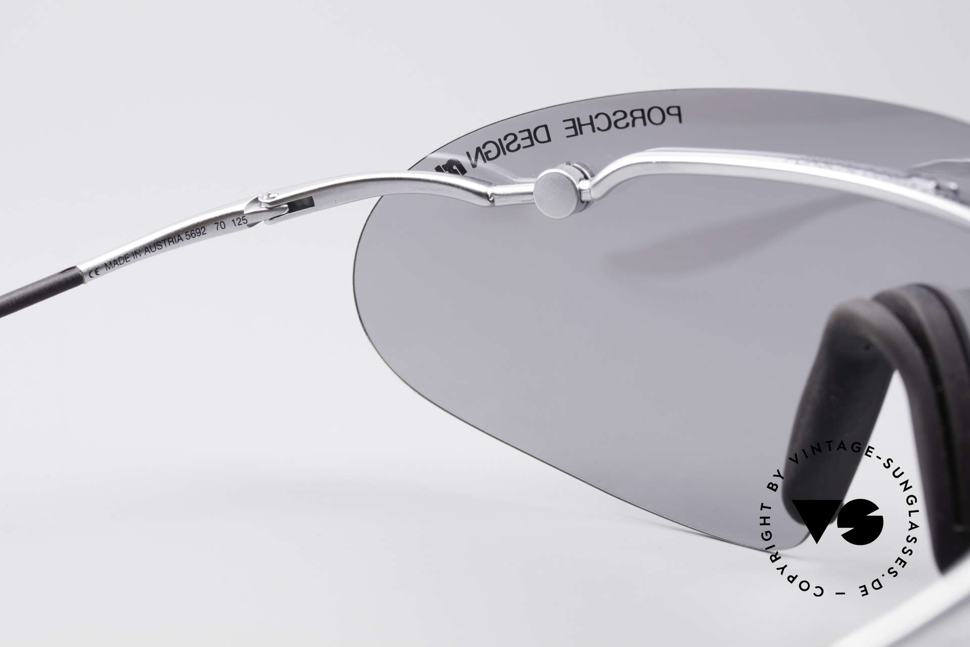 Porsche 5692 F09 Flat Designer Shades, ultra rare Porsche Design vintage model from app. 1995, Made for Men