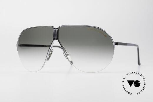 Porsche 5628 Rare 80's Folding Sunglasses Details