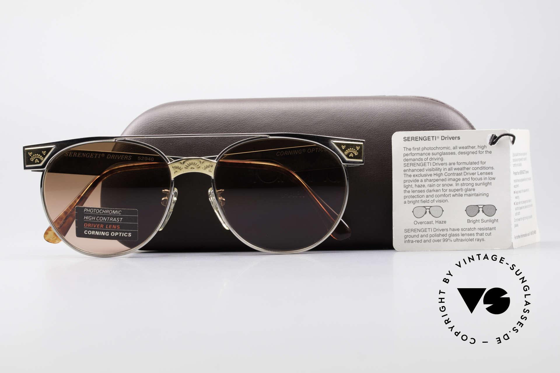 e9165949cf Sunglasses Serengeti Drivers 5294 High Contrast Driver Lens ...