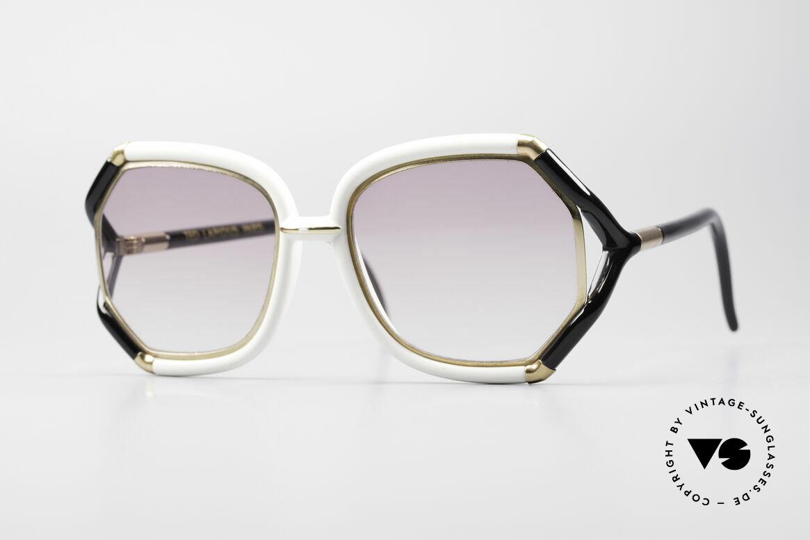Ted Lapidus B02 70's Designer Sunglasses, lovely vintage sunglasses by Ted Lapidus of the 70's, Made for Women
