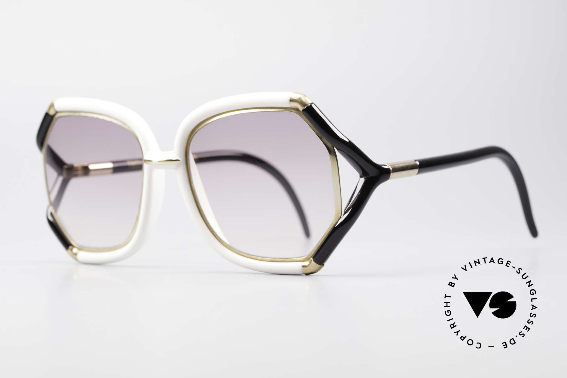 Ted Lapidus B02 70's Designer Sunglasses, worn by the movie stars of the 70s (St. Tropez style), Made for Women