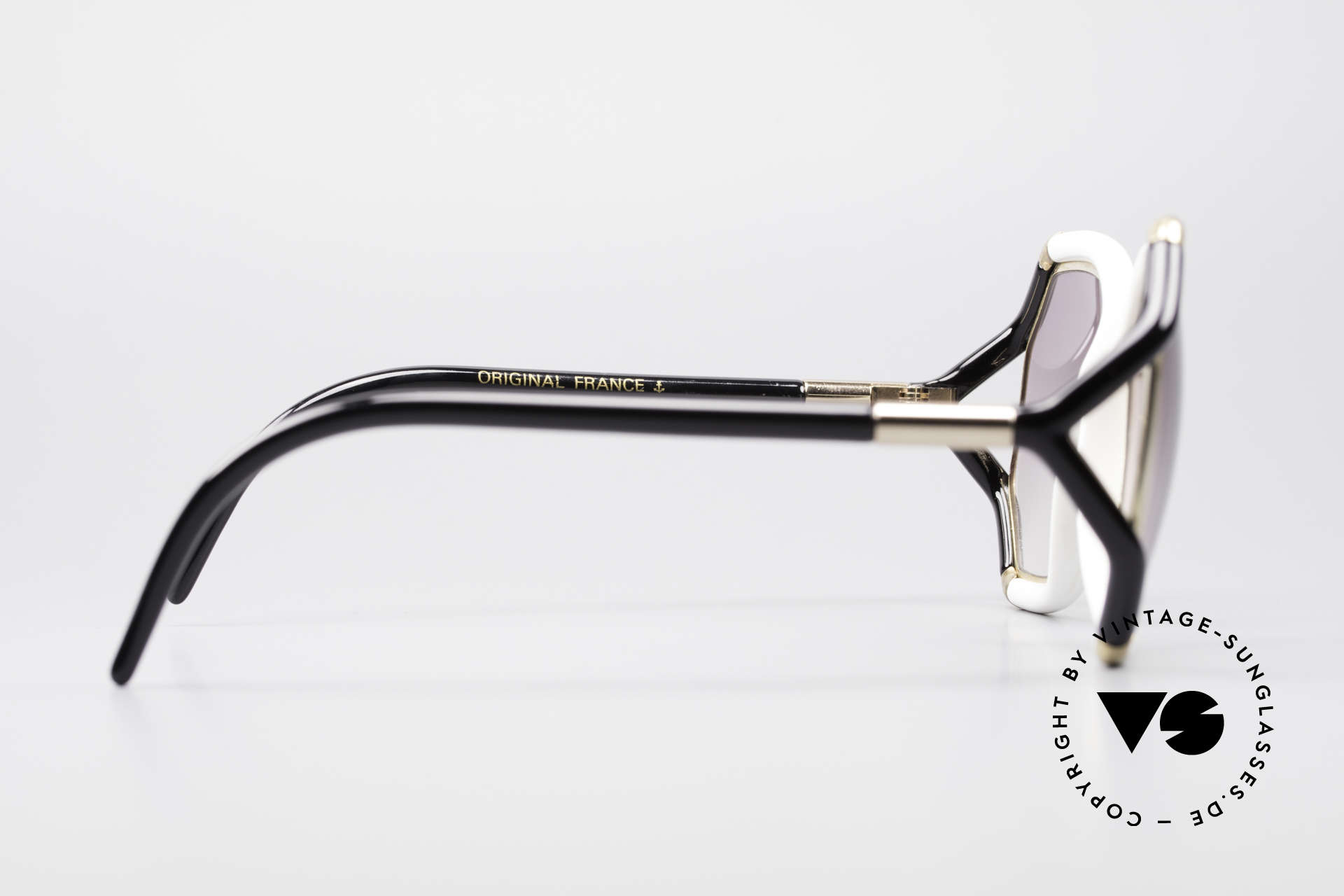 Ted Lapidus B02 70's Designer Sunglasses, 2nd hand model in a great condition; unique RARITY, Made for Women