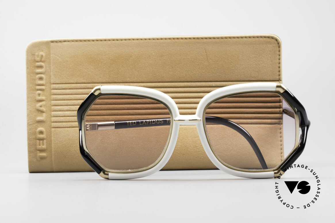 Ted Lapidus B02 70's Designer Sunglasses