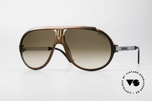 Carrera 5512 Don Johnson Miami Vice Shades Details