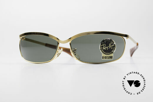 Ray Ban Olympian VI Deluxe B&L USA Vintage Shades Details