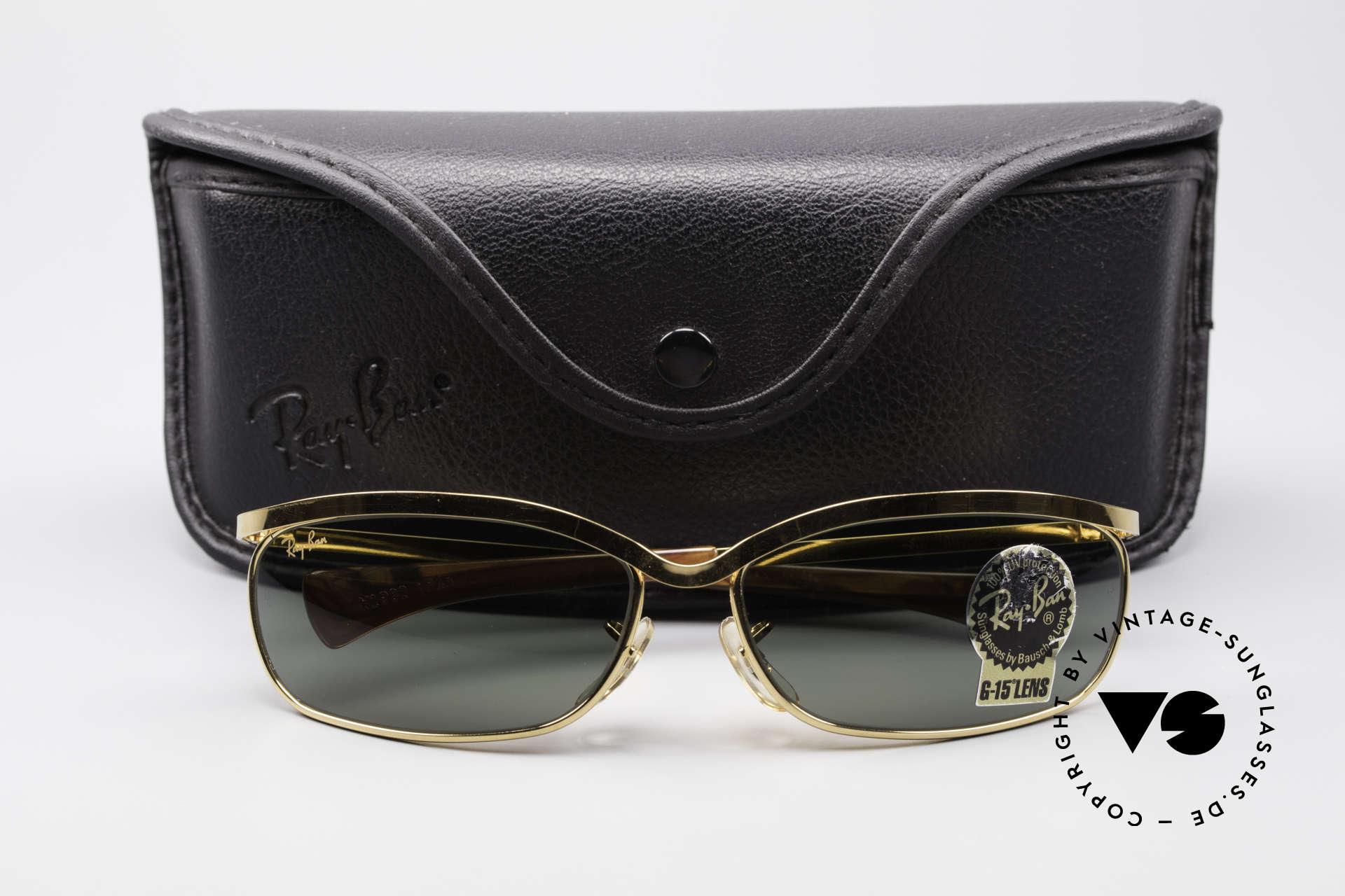 f799cfd8754 Sunglasses Ray Ban Olympian VI Deluxe B L USA Vintage Shades ...