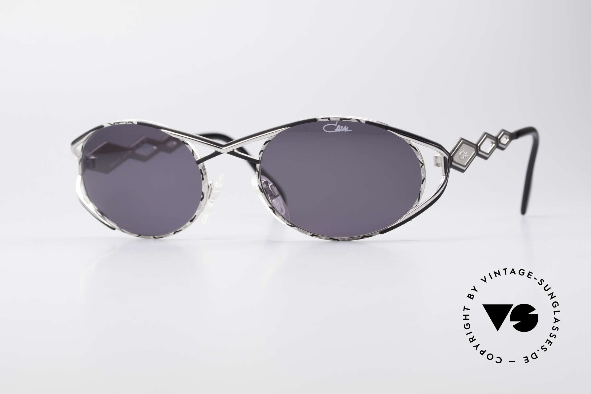 Cazal 977 Vintage 90s Sunglasses Ladies, luxury vintage Cazal sunglasses from the late 1990's, Made for Women