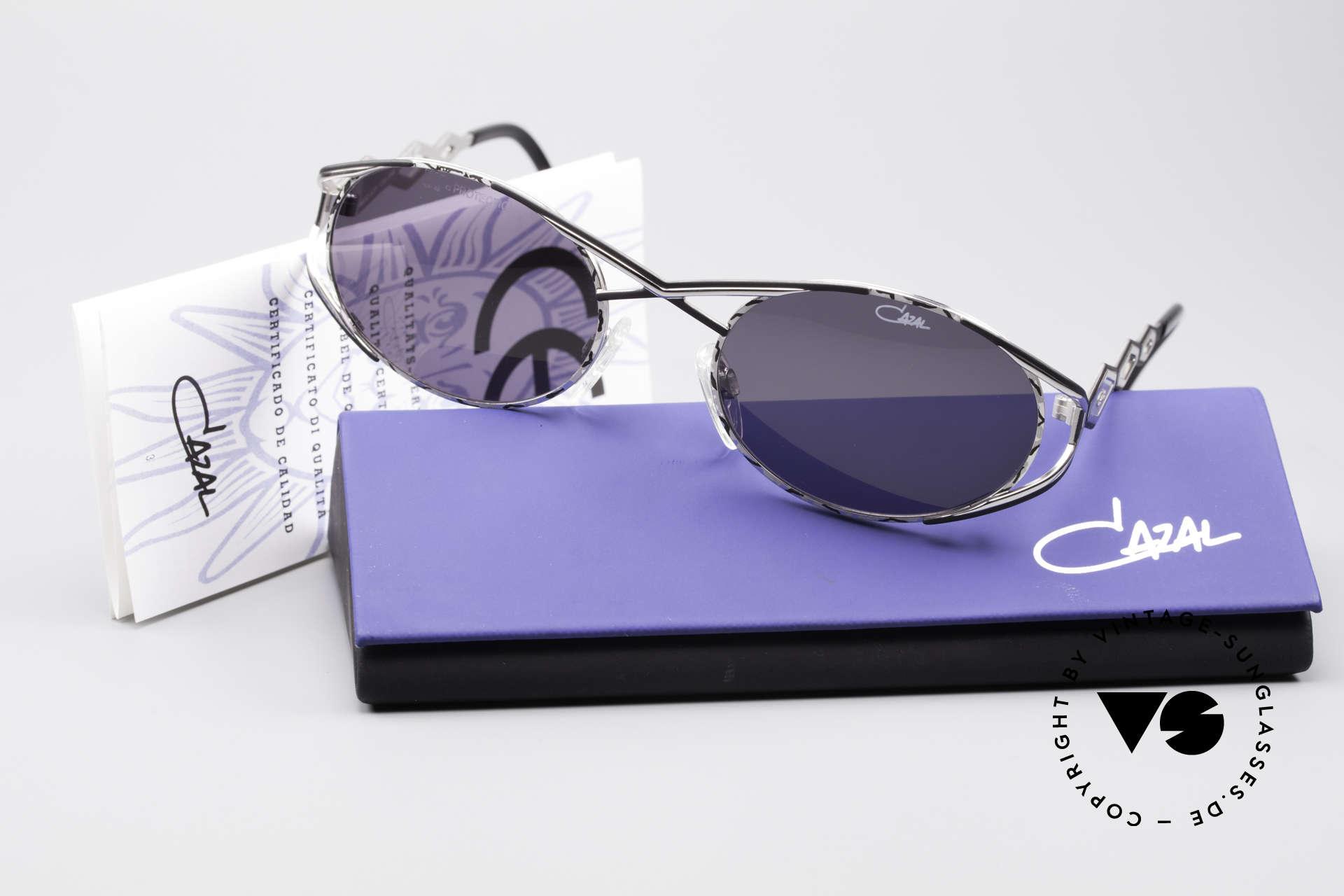 Cazal 977 Vintage 90s Sunglasses Ladies, orig. gray CAZAL sun lenses (for 100% UV protection), Made for Women