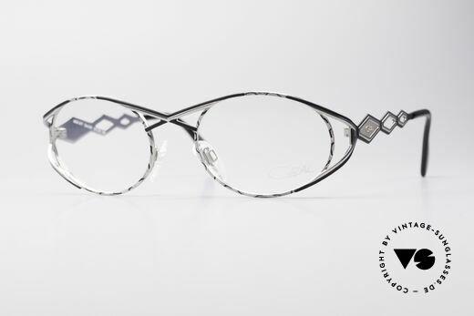 Cazal 977 Vintage 90s Eyeglasses Ladies Details