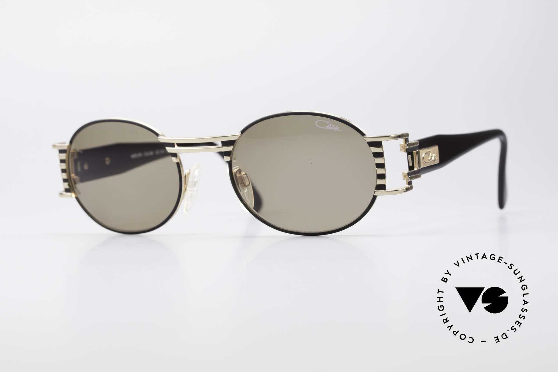 Cazal 976 90's Vintage Sunglasses Oval, extraordinary Cazal design from the late 1990's, Made for Men and Women