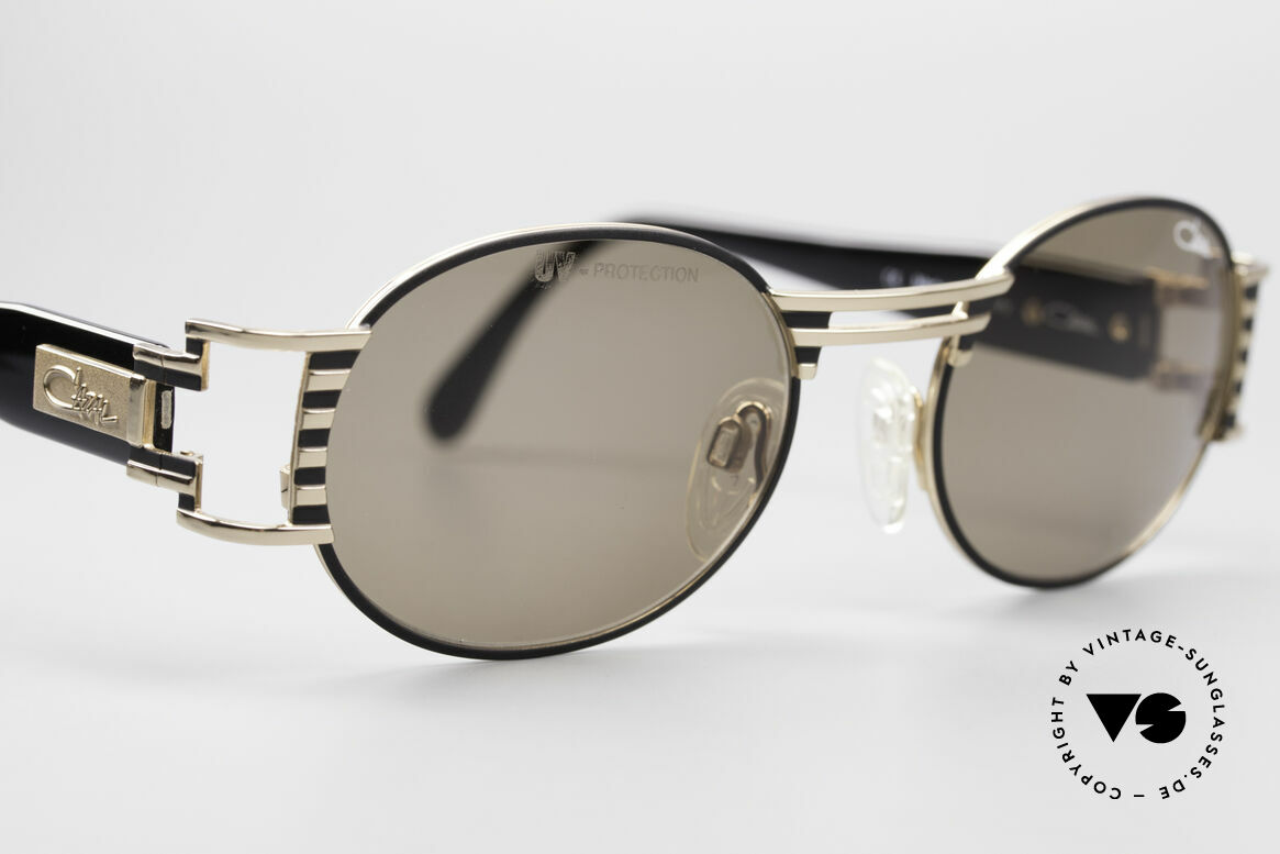 Cazal 976 90's Vintage Sunglasses Oval, great combination of materials, colors and design, Made for Men and Women