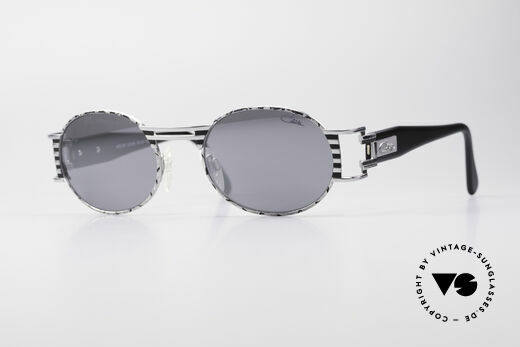 Cazal 976 Vintage Shades Oval Mirrored Details