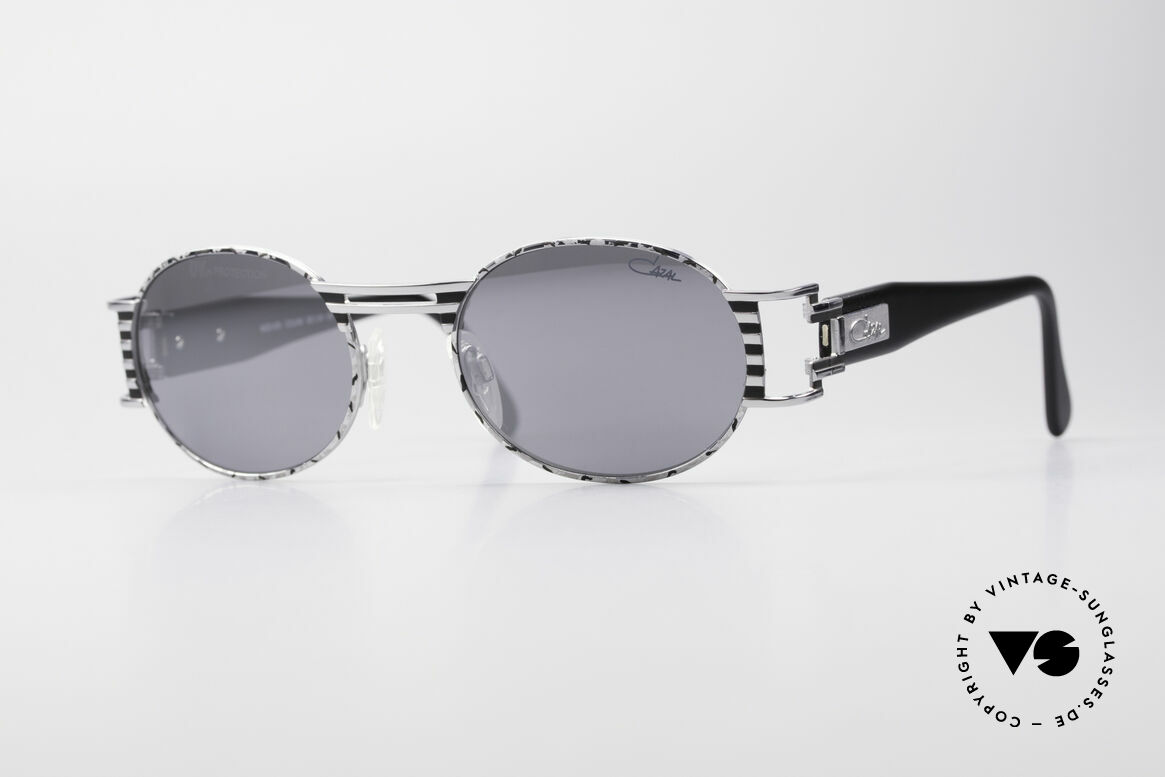 Cazal 976 Vintage Shades Oval Mirrored, extraordinary Cazal design from the late 1990's, Made for Men and Women