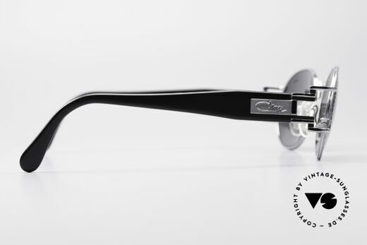 Cazal 976 Vintage Shades Oval Mirrored, never worn (like all our rare vintage Cazal frames), Made for Men and Women