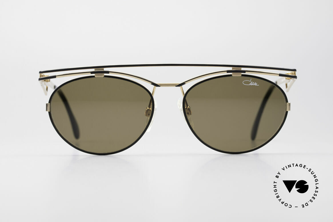 Cazal 970 Extraordinary 90's Shades, playful metal frame construction - pure extravagance!, Made for Women