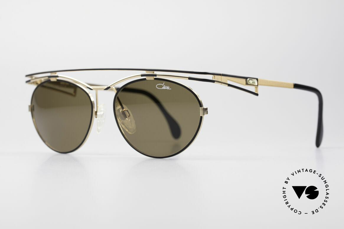 Cazal 970 Extraordinary 90's Shades, sophisticated frame finish in tangible high-end quality, Made for Women
